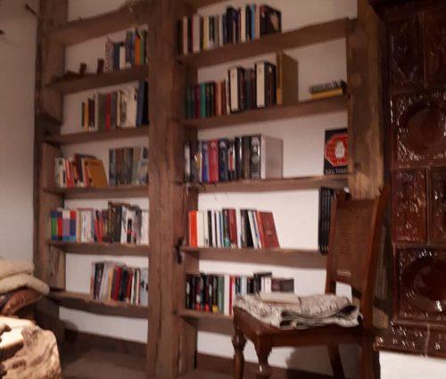 Bücherregal Alteiche