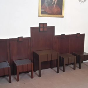 Sitzmöbel Kirche Gambach
